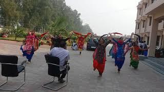 LuDDi By Girls Of Mata Gujri khalsa College Kartar Pur.