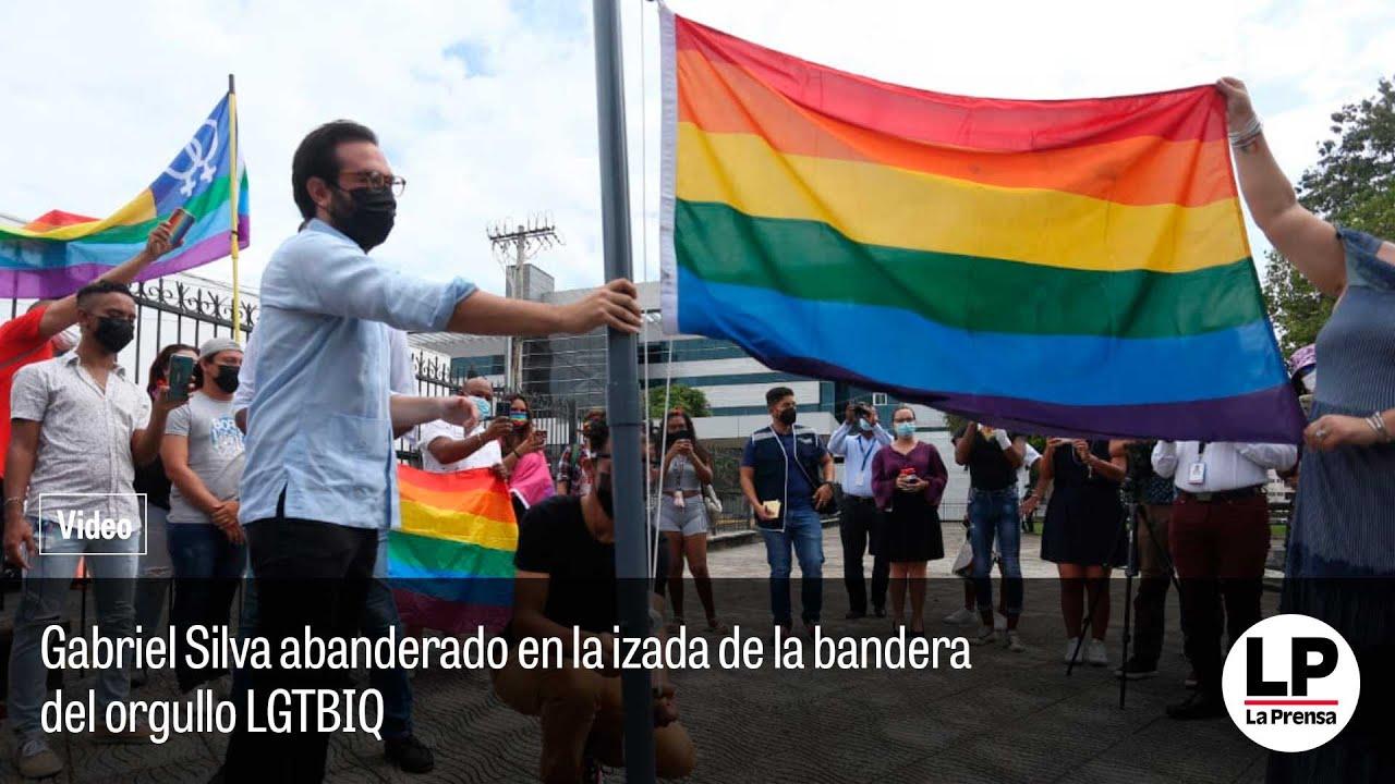 Download Diputado Gabriel Silva fue abanderado de la izada de la bandera LGTBIQ