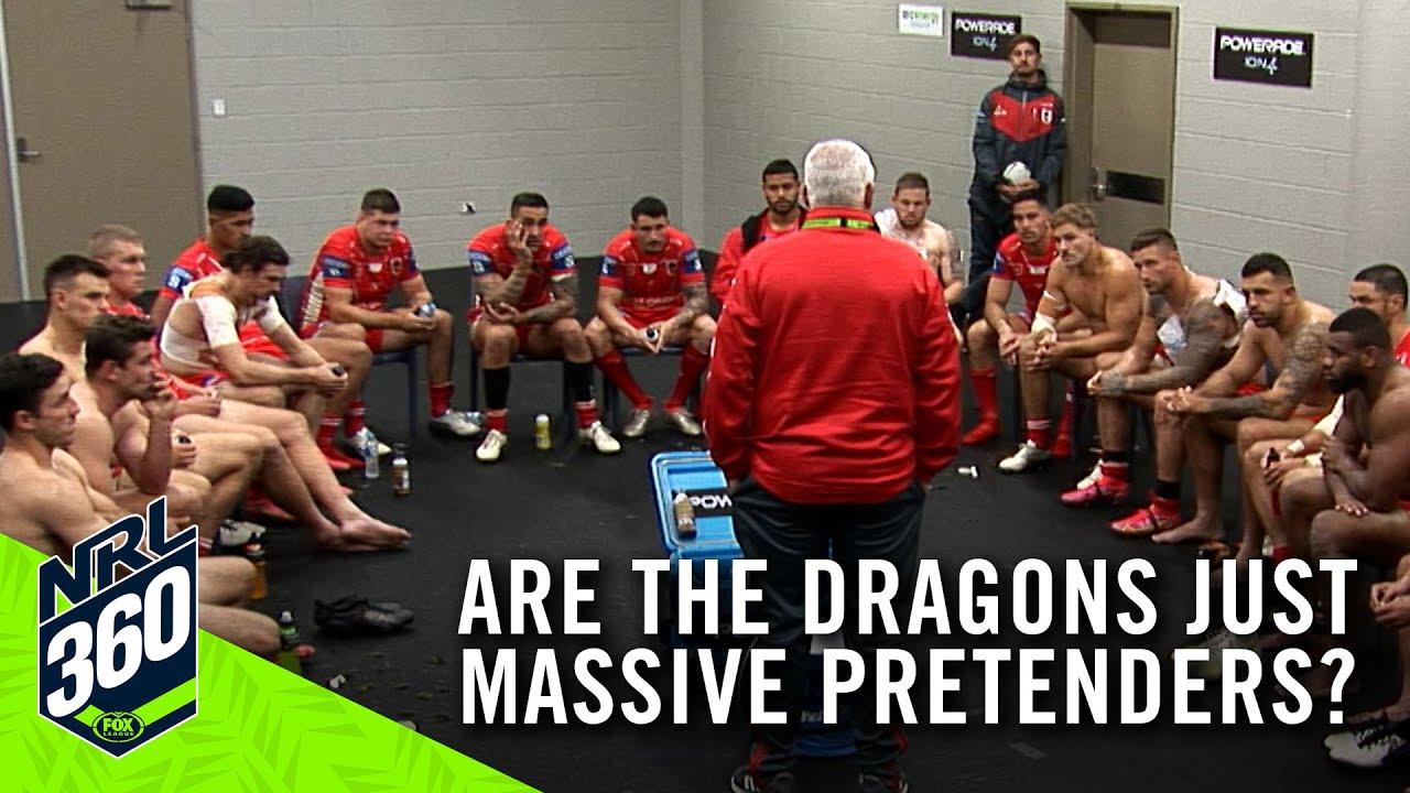 Are the Dragons just massive pretenders? I NRL 360 I Fox League