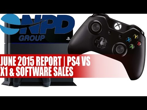 NPD Group | June 2015 Report PS4, Xbox One & Software Sales - Details