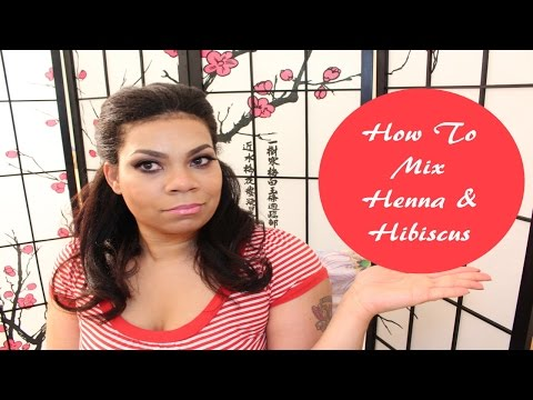 How To Mix Henna And Hibiscus Tea Natural Red Hair Dye Color