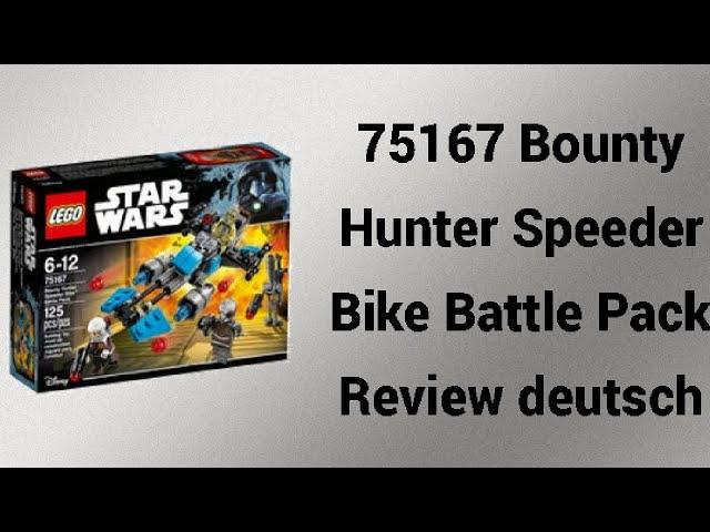 Bad Boys Battle Pack   75167 Bounty Hunter Speeder Bike Battle Pack   Rpfreund2014