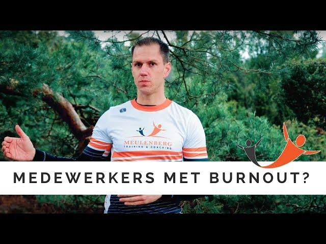 Burnout bij medewerkers?