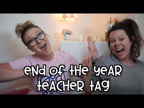 End of the Year Teaching Tag