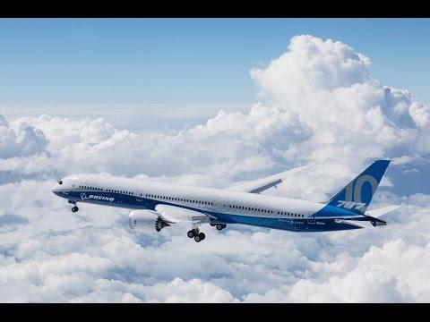 Boeing 787-10 Dreamliner Completes First Flight