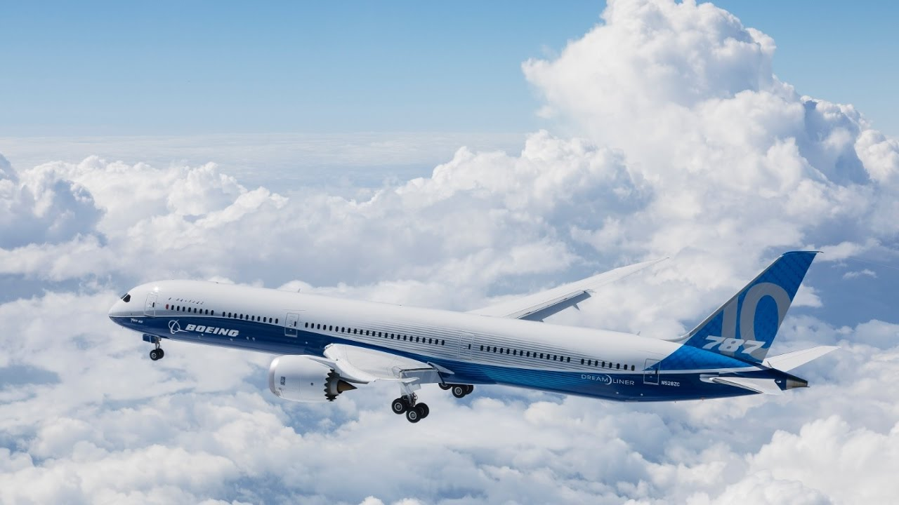 787 10 Dreamliner >> Boeing 787 10 Dreamliner Completes First Flight Youtube