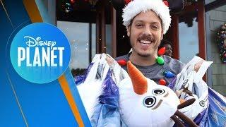 Fabio Porchat em Busca de Novas Tradições l Disney Planet News #7