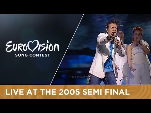 Geir Rönning - Why (Finland) Live - Eurovision Song Contest 2005