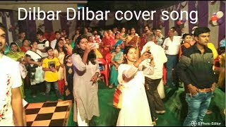 Dilbar Dilbar Song l Dance Cover by cute little girls in a function