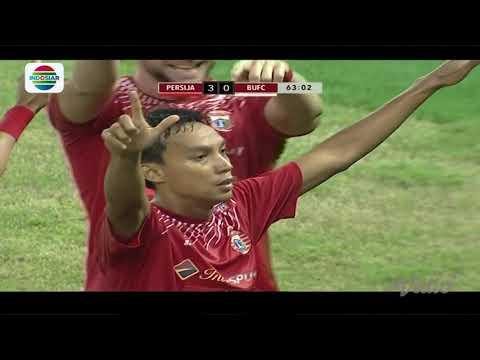 Final Piala Presiden 2018: Gol Novri Setiawan Persija Jakarta (3) vs Bali United FC (0)