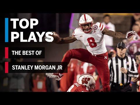 The Best of Stanley Morgan Jr: 2018 Mid-Season Highlights   Nebraska   Big Ten Football