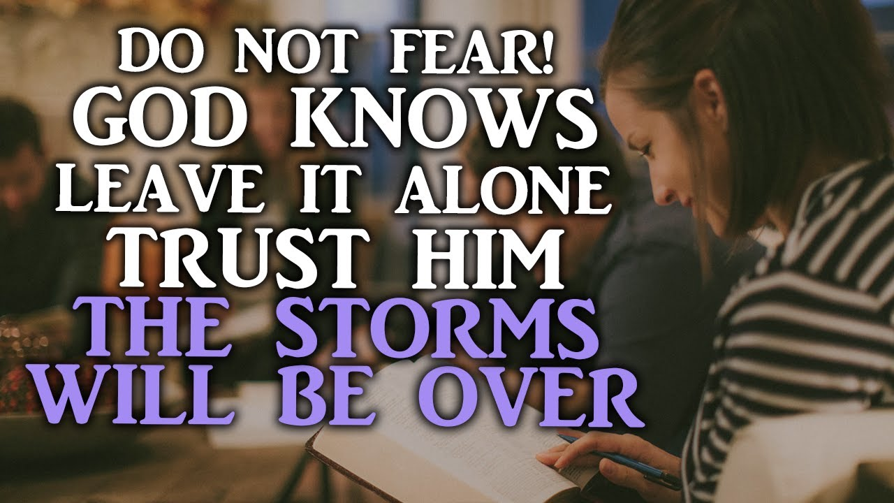 DO NOT WORRY GOD IS BIGGER THAN FEAR HE KNOWS WHAT YOU'RE FACING-Inspirational & Motivation