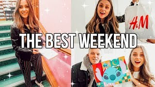 THE BEST WEEKEND!! + surprises from Disney!!