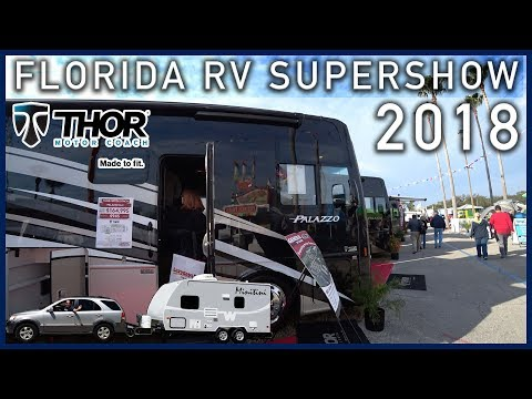 Thor Motorhomes - Florida RV Supershow 2018