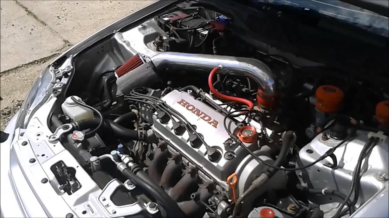 Honda Civic EJ9  Engine & Exhaust Sound  YouTube