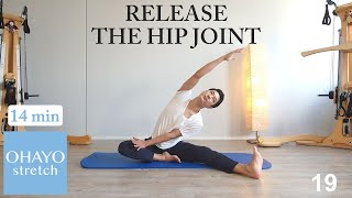 14min full body stretch, release hip joint, no talking  / OHAYO stretch