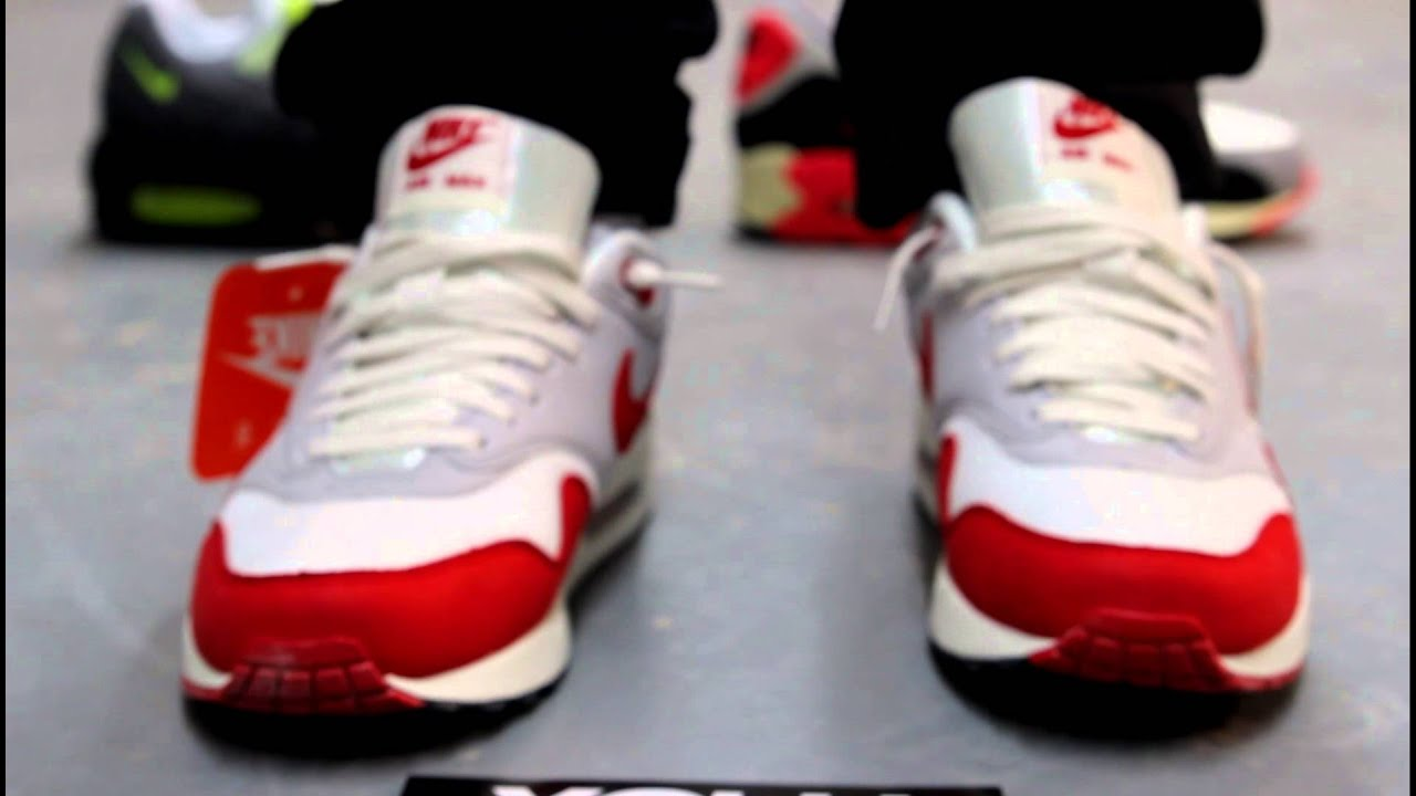 new arrival 5b048 fa2dc Nike Air Max 1 OG On-feet Video at Exclucity