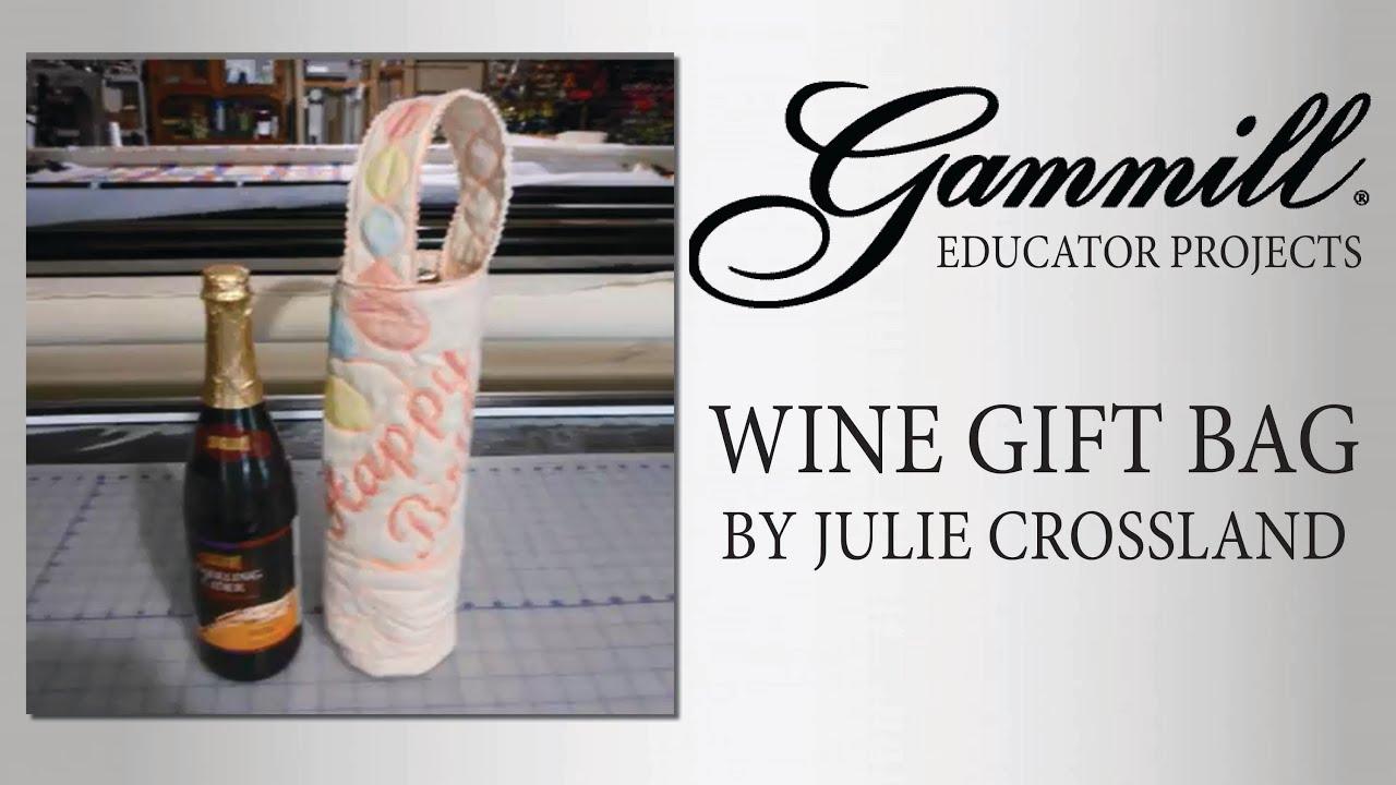 Wine Bag Tutorial - YouTube
