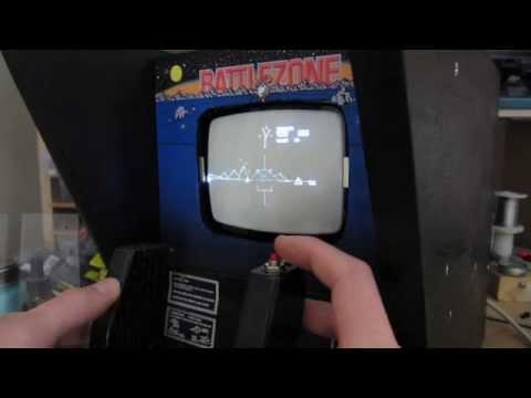 Battlezone Mini Arcade Machine