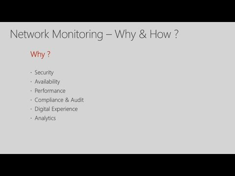 Gain visibility into network performance and availability with network monitoring solutions in