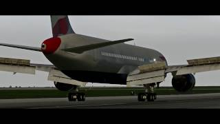 X-Plane 11 - Landing From Multiple Views