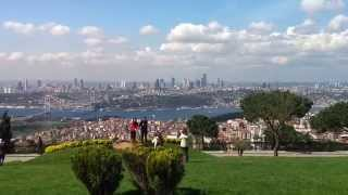 The most beautiful hill in istanbul - Camlica