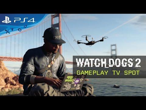 Watch Dogs 2 - Gameplay TV Spot [UK]