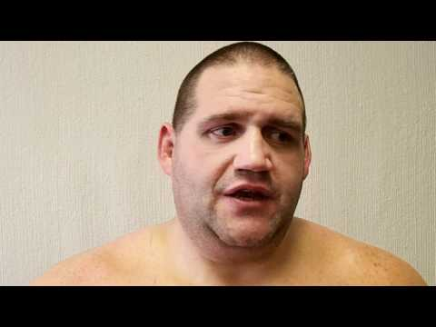 Rulon Gardner after competing at the Kiki Cup