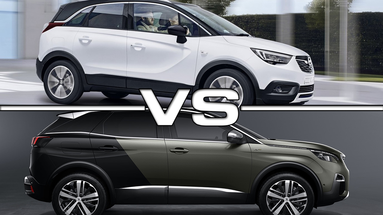 2018 opel crossland x vs 2017 peugeot 3008 youtube for Interieur 3008 2017