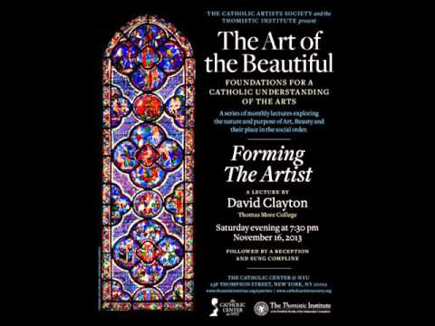 David Clayton:  Forming the Artist