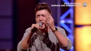 Christian Burrows Delivers Emotional Performance At Boot Camp - The X Factor UK PREVIEW on AXS TV