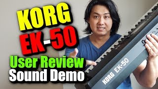 Korg EK-50 | Owner Review & Demo