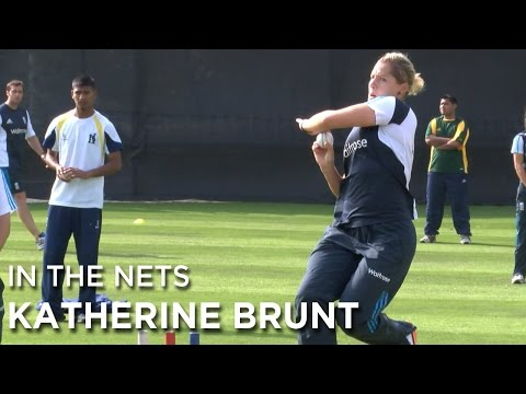 In the nets - an over with England Women's Cricketer Katherine Brunt