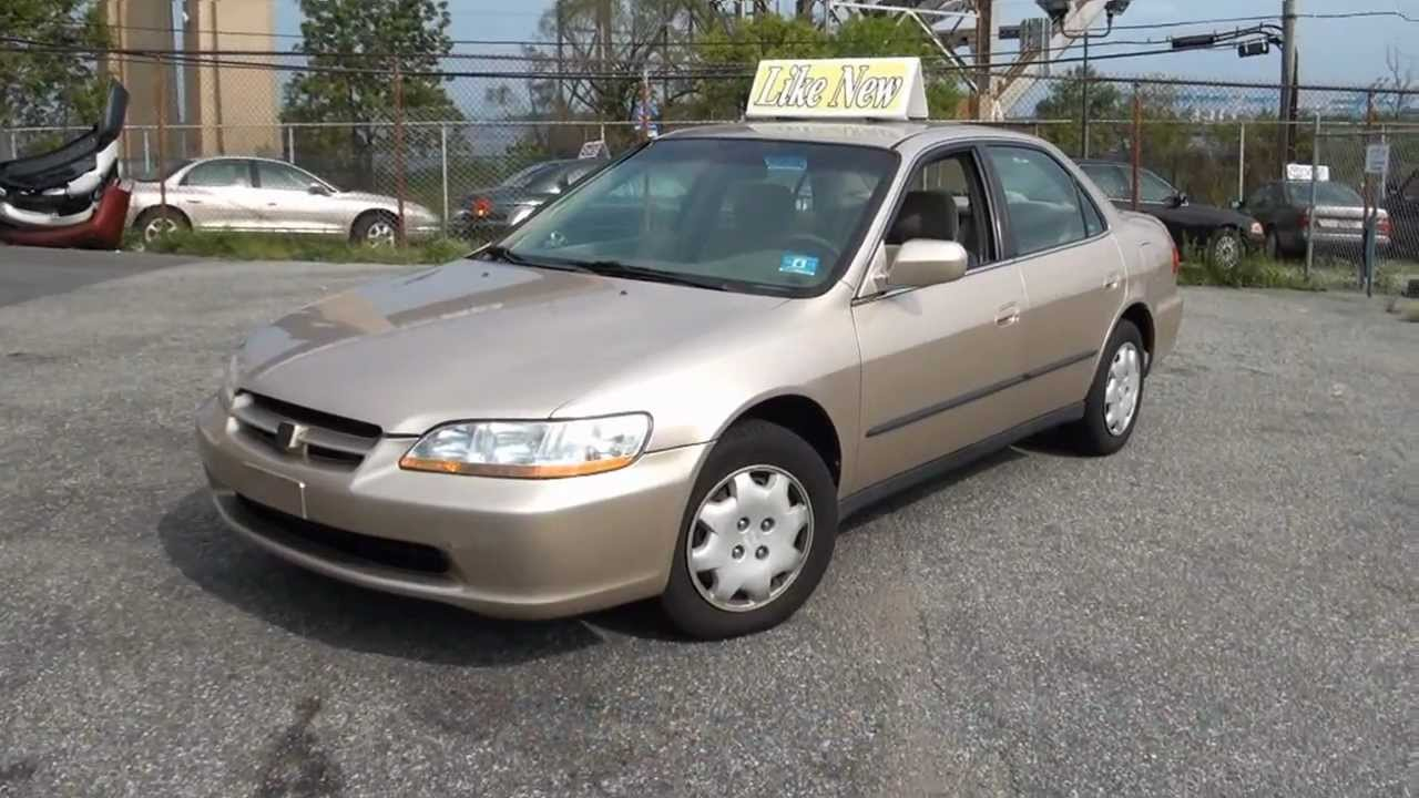 2000 Honda Accord Lx Sedan Staten Island Youtube