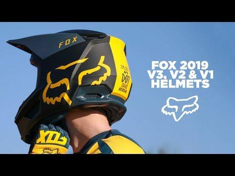 Fox 2019 Motocross Helmet Range | MXstore.com.au