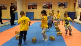 кунг-фу для детей с 4х лет