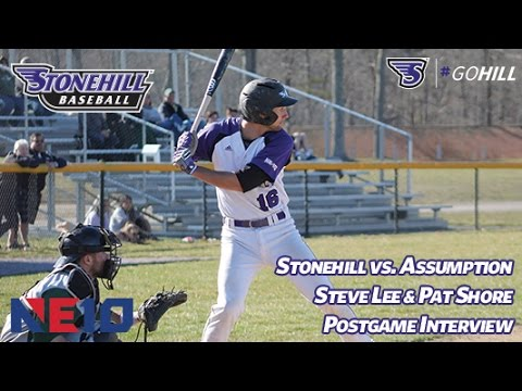 Stonehill College Baseball Takes Game 3 Against Assumption, 2-1 in Walk-Off Style