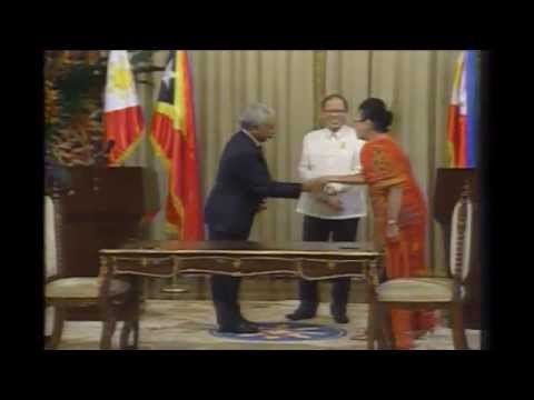 Signing of Agreements and Joint Press Statement between Philippine and Timor Leste