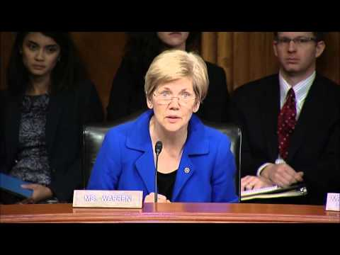 Sen. Elizabeth Warren - Aging Committee Hearing on Work in Retirement