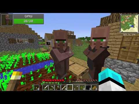 Sezon 8 Minecraft Modlu Survival Bölüm 1 - Küçük Evim