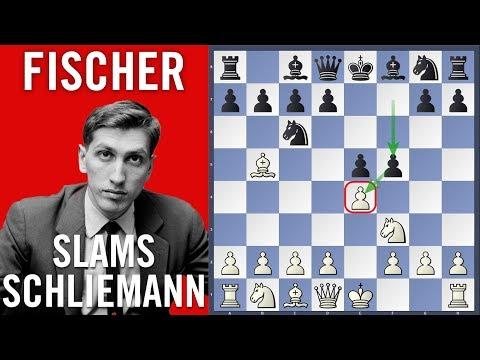 Fischer slams Schliemann  - Fischer vs Matulovic | Herceg Novi 1970 |
