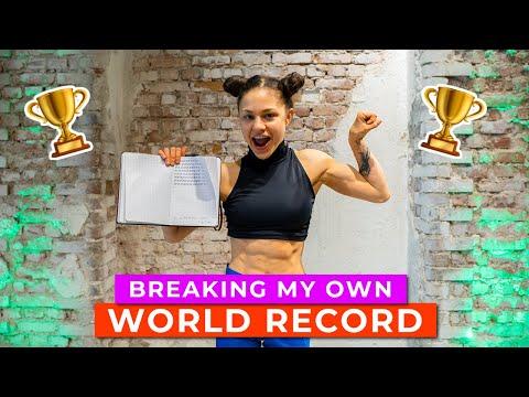 Breaking my own WORLD RECORD | Stalder presses amrap | Stefanie Millinger