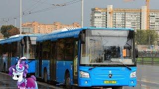 Поездка на автобусе ЛиАЗ-4292.60 (Группа ГАЗ) ТС 853 77 Маршрут № 99 Москва