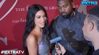 Kim Kardashian & Kanye West Talk Wedding Anniversary, Fashion, Music, and More!