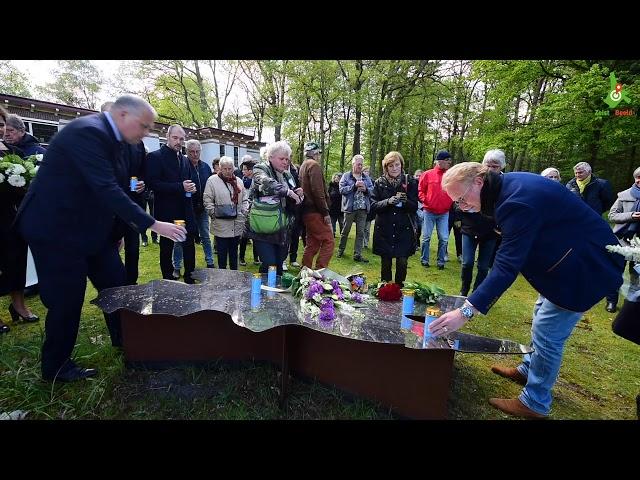 Vergeten slachtoffers op de Willem Arntz hoeve herdacht.