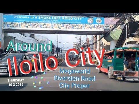 AROUND ILOILO CITY    MEGAWORLD - DIVERSION ROAD - CITY PROPER    BY THE PINEAPPLE FAMILY