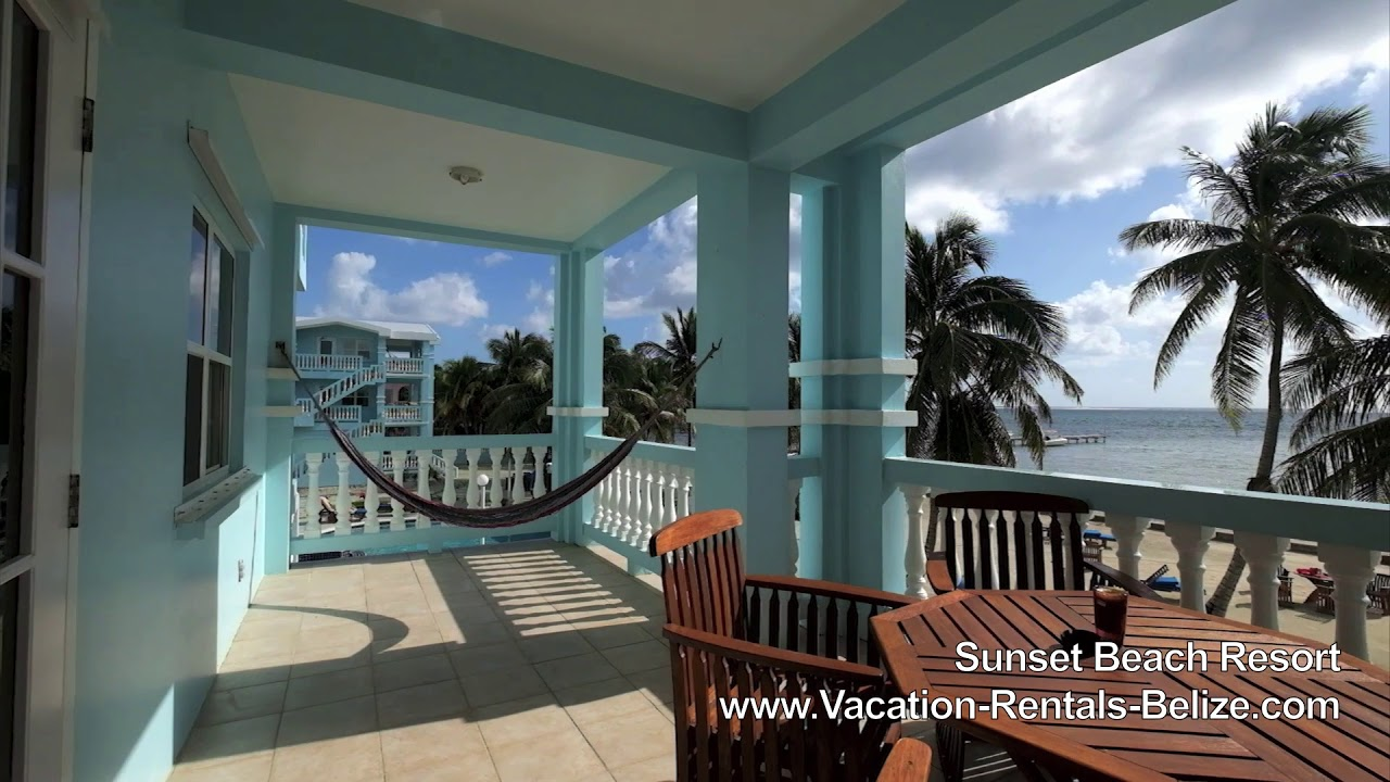 Sunset Beach Resort Ambergris Caye Belize Vrb Youtube