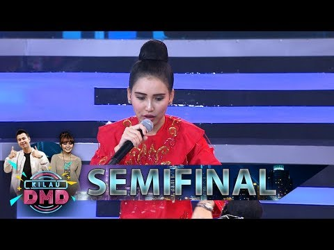 Asyik Juga Nih, Ayu Ting Ting Belajar Jaipongan Sama Anak Kecil  - Semifinal Kilau DMD (22/2)