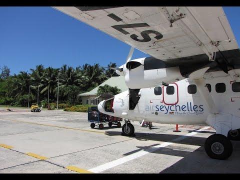 [Flight Report] AIR SEYCHELLES   Mahe ✈ Praslin   DHC-6 Twin Otter   Economy