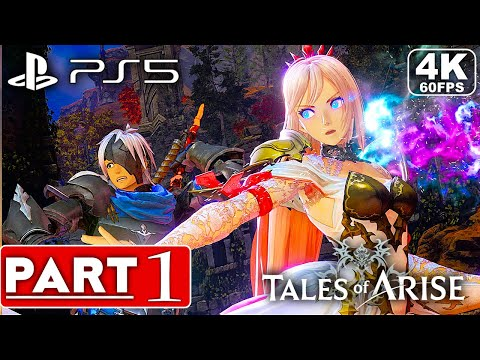 TALES OF ARISE PS5 Gameplay Walkthrough Part 1 [4K 60FPS] - No Commentary (FULL GAME)